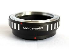 Konica AR to Micro 4/3 M4/3 M43 Mount Adapter EPL3 GF3 GX1 EP3 OM-D E-M5 AR-M43