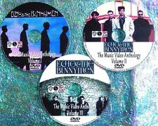 Pin & FREE Echo and The Bunnymen Ian McCulloch Music Video Collection 3 DVD Set