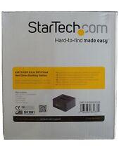 "StarTech SATADOCK22UE Dual 2.5/3.5"" Drive eSATA/USB 2.0 Docking Station"