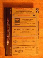 1984 PITTSBURG KS KANSAS DIRECTORY city PHONE BOOK POLKS OLD GENEALOGY ancestry