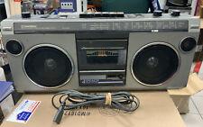 New ListingVintage Goldstar Tsr-571 Radio Cassette Recorder Old School Boombox Radio