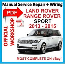 Servicio de reparación Manual # Offi taller para Land Rover Range Rover 2013-2015 Sport