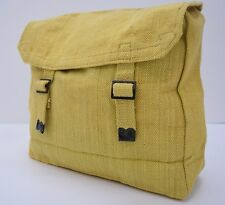 Vintage Army Small 37 Pattern Canvas Webbing Bag Pack With Strap Equipment
