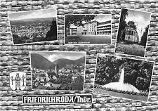 BG114 friedrichroda thur multi views train chemin a fer   CPSM 14x9.5cm germany
