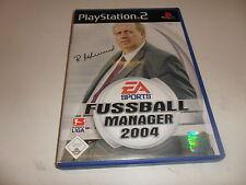 PlayStation 2 PS 2 futbol Manager 2004 (3)