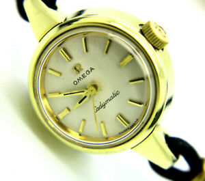 Omega Ladymatic - Automatik Damen Armbanduhr - Ref.10999-3 - Stahl/Goldummantelt