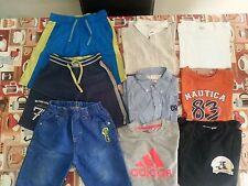lotto 431 stock 9 pezzi abbigliamento bimbo bambino 6-7 Anni