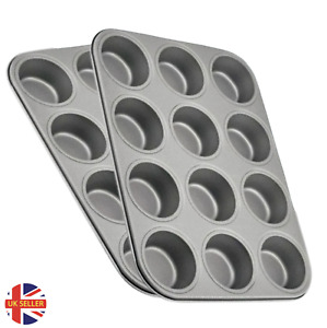 BAKING TRAY 12 LARGE MUFFIN YORKSHIRE PUDDING MOULD CUPCAKE BAKEWARE x 1