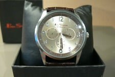 Ben sherman mens gents wrist watch stainless steel champagne dial bs050