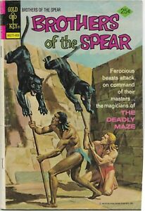Brothers of the Spear #10 - VG - Gold Key - The Deadly Maze