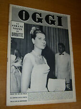 OGGI 1960/33=GRACE KELLY=MARIA CALLAS=IRENE GENNA=PIERRE CARDIN=DOMENICO REA=