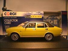 Excelente Nuevo Vanguards 1/43 1973 Morris Marina 1.8 TC Jubileo volante a la derecha nla