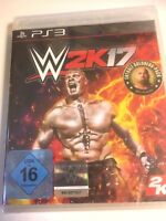 * Playstation 3 NEW SEALED Game * WWE 2K17 Wrestling inc Goldberg * Ger Pack PS3