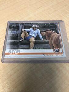 2019 Topps #57 NOLAN RYAN Legend Photo Variation SSP Astros Cowboy Rancher