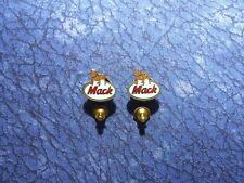 2 Mack Trucks Bulldog Trucking Logo Lapel/Hat Pin Tie Tacks
