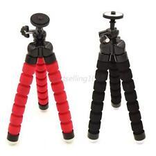 For GoPro SLR DSLR DV Camera Mini Foam Legs Flexible Octopus Tripod Stand Black