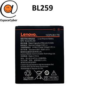 Battery BL259 For Lenovo K3 K32C30 K5+C2 - 2750 MAH