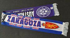 UEFA Cup 2004 AUSTRIA WIEN : REAL ZARAGOZA Saragossa Schal Fanschal Europacup