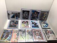 Panthers 64 Card Lot, McCaffrey Rated Rookie, Mem, SP, Inserts, Samuel Patch