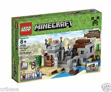 LEGO Minecraft 21121 the Desert Outpost Building Kit 6102226 With Weapon Element