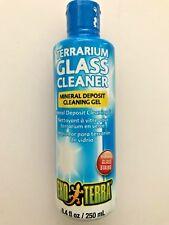ExoTerra Terrarium Mineral Deposit Cleaning Gel Glass Cleaner 8.4 oz PT-2668