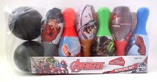 Bowling Set 6 Pins 2 Ball Marvel Heroes Avengers Age 2+ NEW IN PACKAGE