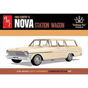AMT 1/25 1963 Chevy II Nova Station Wagon Craftsman