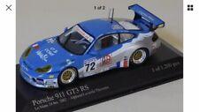 911 GT3 RS #72 2002 Minichamps 1.43 Le Mans 24HR Excellent