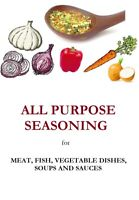 150g All Purpose Seasoning / meat, fish, vegetable dishes, soups and sauces /
