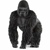 Schleich 14770 Male Gorilla Toy Figure, Black, For Ages 3+