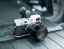 Leica M (Typ 240) M240 Silver and Black Camera w 2 Lens + EVF Lot
