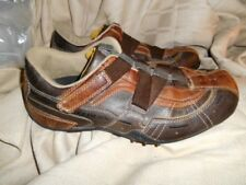 SKECHERS #60313 Brown Sport Casual z strap closure athletic sneaker Shoes Sz 10