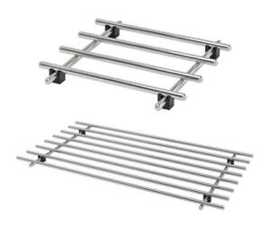 Ikea Lamplig Trivet Stainless Steel Pot Pan Stand 18cmx18cm, Free &Fast Shipping