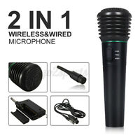Professional Wireless Handheld Microphone Mic System Home Party Karaoke   9