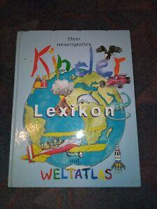 Buch Kinder Lexikon Welt Atlas Großes Buch