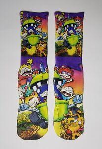 Custom Rugrats Movie dry Fit socks 90s cartoons