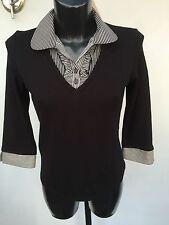 BHS Waist Length Viscose 3/4 Sleeve Tops & Shirts for Women