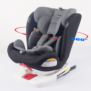 ISOFIX CHILD CAR SEAT 0-36kg GROUP 0+/1/2/3 ECE APPROVED CAR SEAT 360° ROTATING