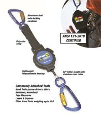 """Streamworks Tool Tether With Multi-Fastener and /""""D/"""" Ring GREAT NEW"""