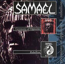 Audio CD Ceremony of Opposites + Rebellion [EP] - Samael - Free Shipping