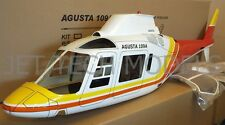 FUNKEY Scale fuselage AGUSTA 109A .60 (700) size RED Color with landing gear