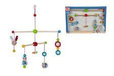 LOT 21807   Heros Baby Mobile Holzspielzeug bunt Motive Kinderzimmer NEU OVP