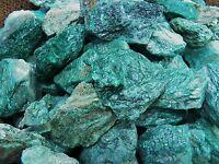 1000 Carat Lots of Fuchite  Rough - Plus a FREE Faceted Gemstone