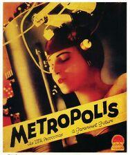Metropolis Fritz Lang 1927 vintage style movie poster print B12