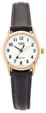 Casio Women's Quartz Gold Tone Stainless Steel Brown Leather Watch LTP1094Q-7B4