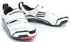 Shimano SH-TR32 Triathlon Bike Shoes EU 36 US Men 3.7 3 Bolt White Tri TR32 SPD