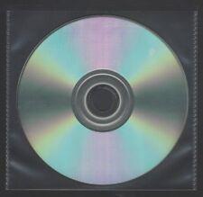 CD/DVD CLEAR POLYTHENE MASTER BAG PROTECTIVE POCKET SLEEVES (pack of 100)