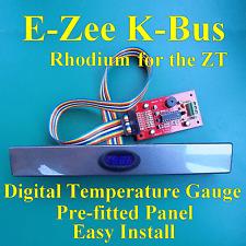 E-ZEE K-Bus blu digitale della temperatura Gauge PER MG ZT prefitted rhodiun Pannello