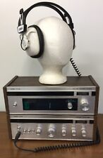 SuperScope A 245 Stereo Amplifier T 210 Tuner & HP 10 Headphones by Marantz
