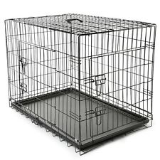 Hundetransportbox Größe XL Hundebox Hundekäfig Transportbox TSPKG13 P#5